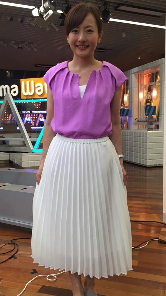 この島本真衣アナの私服どうですか?