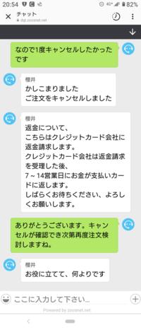 インスタのmiilakoi.comというサイトでクレジットカードで注文してしまったのですが注文後怪しいことに気づいてキャンセルしました。 しっかりキャンセル出来ているか確認する方法を教えて頂きたいです。 チャットではキャンセル出来たと連絡来ましたがメールでは確認できてません。