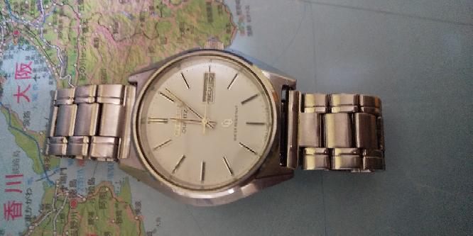 祖父の形見の腕時計です。 きょう、友人がこの腕時計がレアだみたいな話をしてくれたのですが、そうなのですか?