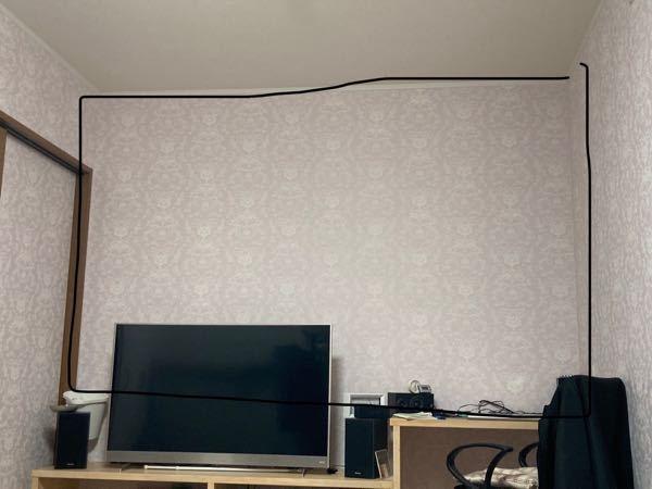 クロス張りについて 部屋の一面だけクロス張りをお願いしたいんですが、一部だけでも業者の人はやってくれるんでしょうか? 画像黒枠のところだけです。 クロスは白色で安いやつで良くて広さは縦に畳3...