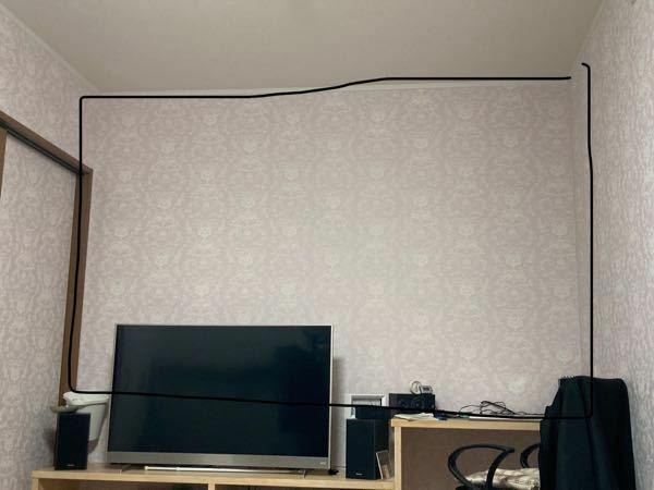 クロス張りについて 部屋の一面だけクロス張りをお願いしたいんですが、一部だけでも業者の人はやってくれるんでしょうか? 画像黒枠のところだけです。 クロスは白色で安いやつで良くて広さは縦に畳3枚分か4枚分くらいです。 費用はいくらくらいかかるでしょうか?