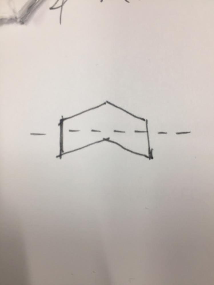 写真の形の断面の断面係数、断面性能の求め方を教えてください。