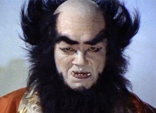 昔の特撮モノの悪役って怖かったですよね。写真は仮面の忍者赤影の金目教の人です(こんなんこども見たら泣くわ)。同じような怖い人を写真つきで教えてください。
