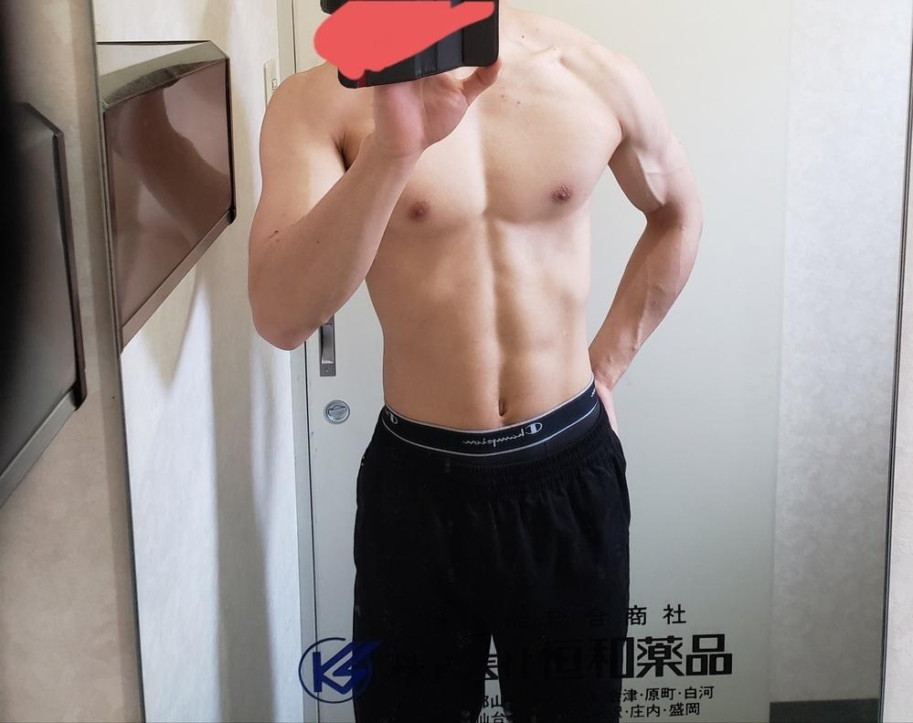 身体評価してほしいです 筋トレ歴二年 60キロ 体脂肪7% ベンチプレスは110です