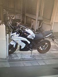 バイクに詳しい方へ  写真のバイク、何と言う車種かわかりますか? よろしくお願いいたします。