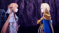 SAOのアリスとアスナのキリトへの執着心、凄いですな。