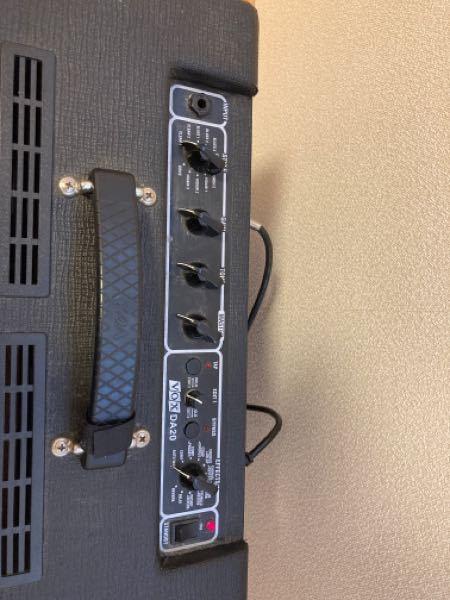 ギターの音作りについてです。 vox da20というアンプを使っています。 ですがエレキギターらしい歪んだ音の出し方が分かりません。教えて下さい。