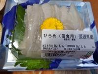 ヒラメについて。 スーパーで刺し身になって売られているヒラメって、もとはどれくらいの大きさだったものなんですか? ふと浮かんだ素朴な疑問です。 ㅤ ㅤ