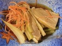 この料理土臭かったのですが、この野菜の名前はなんと言うのですか?