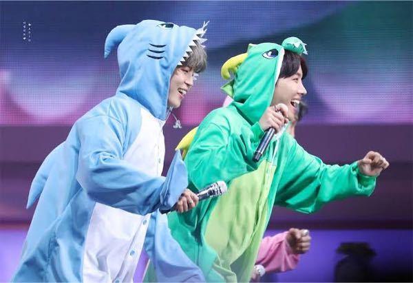BTSの日本公演のハピエバでも着ぐるみ着てますか?