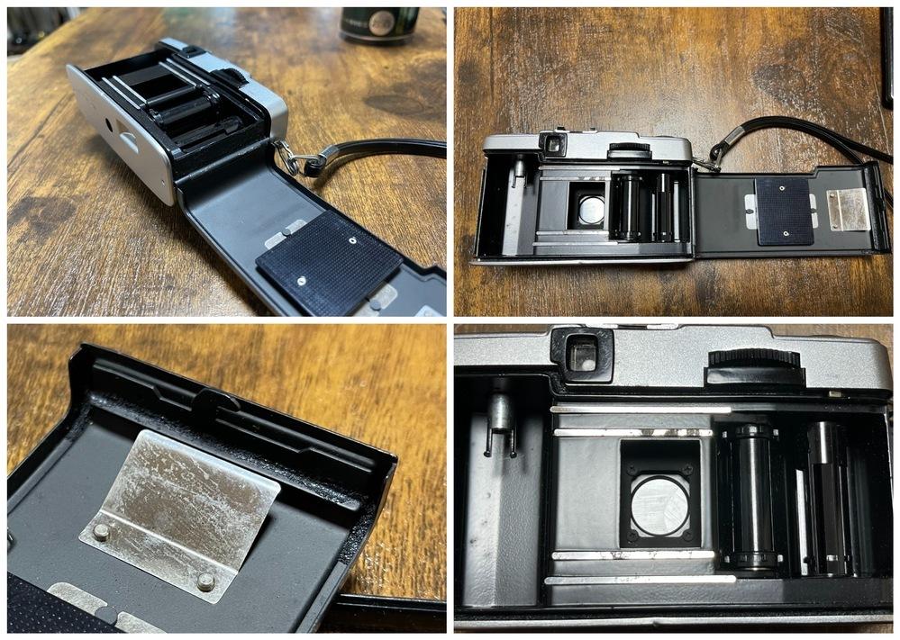 中古で購入したフィルムカメラについてです。 光線漏れによって、フィルムカメラで現像した写真が光っており(前質問をさせていただいたときに写真を添付しております。)失敗しておりましたが、 そもそもフィルムカメラにモルトが付いていないようでした。 (モルト部分?と思われるところに黒っぽいのが少し付着しているだけでした) できれば自分でなおしたい!とおもっており モルト部分にフェルトシートなどを貼...