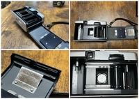 中古で購入したフィルムカメラについてです。 光線漏れによって、フィルムカメラで現像した写真が光っており(前質問をさせていただいたときに写真を添付しております。)失敗しておりましたが、 そもそもフィル...