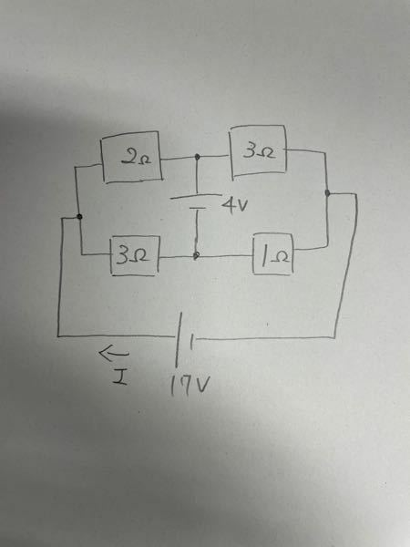 この回路の電流Iを求めるのですが、テブナンを使って解こうとすると、どのように解けば良いでしょうか? 教えてください。 よろしくお願い申し上げます。 答えは8Aです。