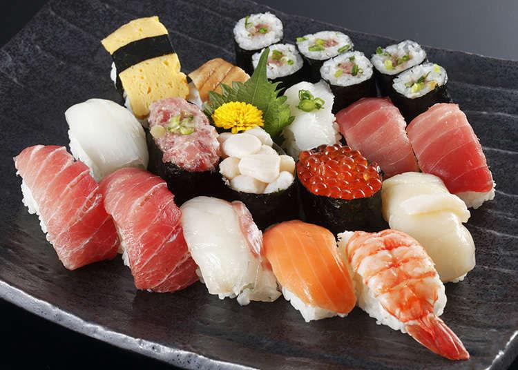 今の時間から寿司を食べることは出来ますか?