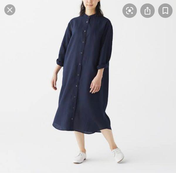 最近無印良品でアルバイトを始めました。 無印の服をあまり持ってないのですが、写真のようなワンピースで働くのはやめたほうがいいですか?