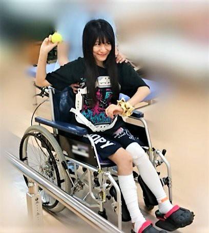 BABYMETALの、ゆいは東京ドームの怪我で駄目になったんですかね?