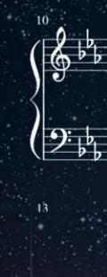 この楽譜だと、どの音にフラットを付ければ良いか教えてください。ピアノをするのが久しぶりなので少し忘れていて、、、