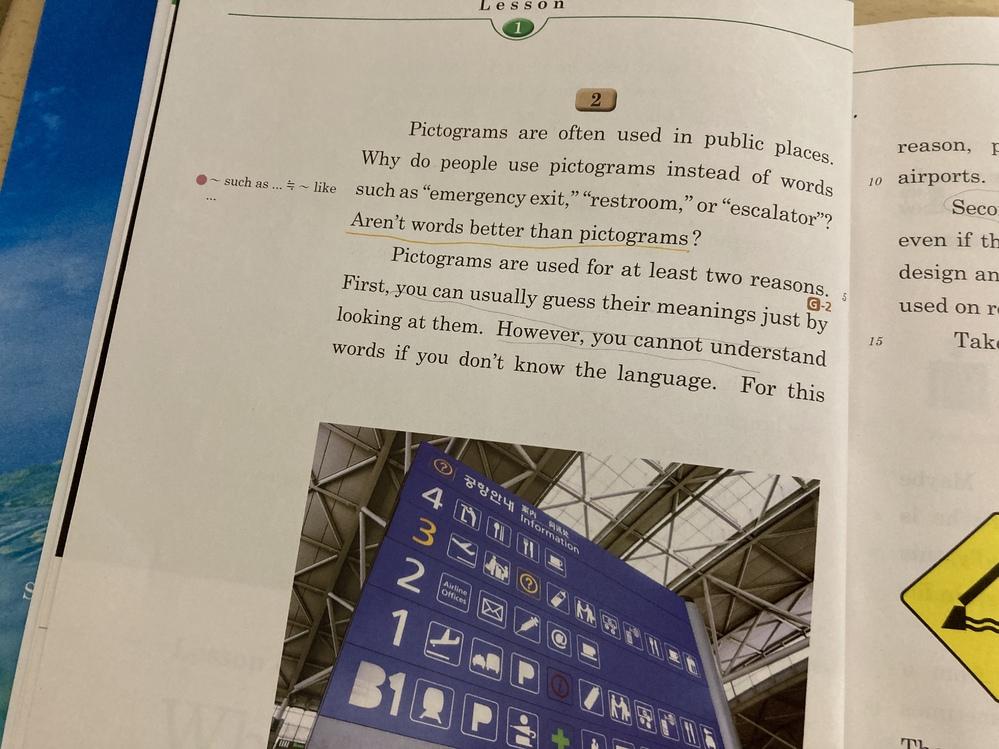 高一 英語 下線部の否定疑問文は、どういう和訳になりますか? また、どう答えたらどういう意味になるかも教えて欲しいです!