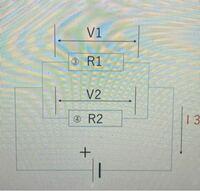 並列回路で以下の図の時、R1が100kΩ、R2が51kΩの場合の合成抵抗ってどうなるか分かる方いますか?