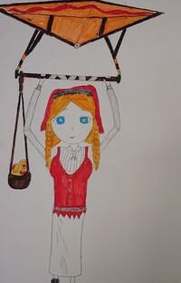 イラスト評価お願いします。 第五人格の新サバイバー、アニー・レスターの イラスト描いてみました!