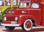 トラックの車種名を教えて下さい。 1940-50年代の輸入車ではないかと思います。