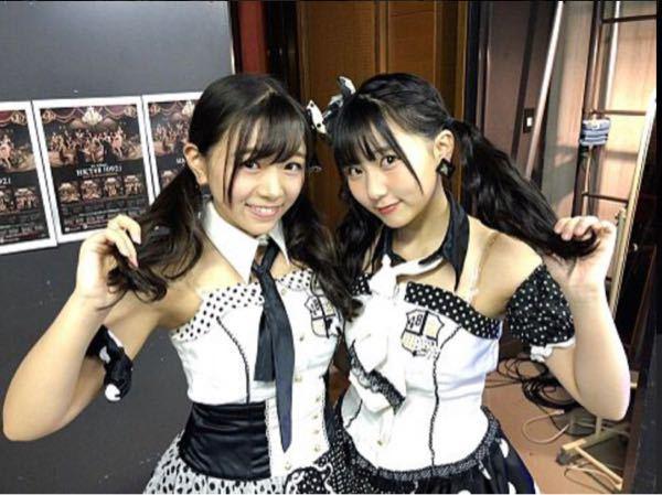 HKT48の武田智加と田中美久のπのサイズはどっちが上だと思いますか?