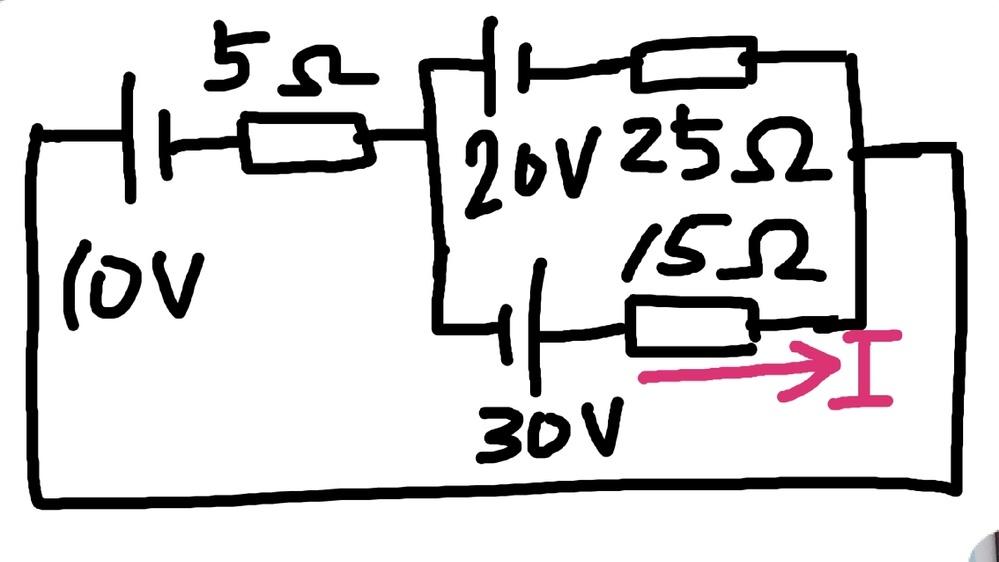 この問題の解答が違っているので答え合わせができません。Iはいくつになりますか。教えて下さい。お願いします。