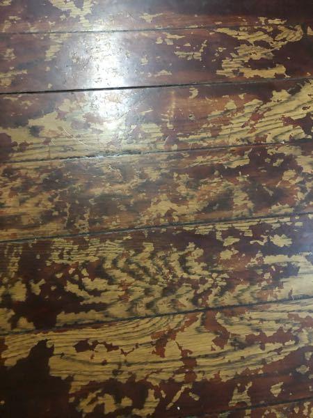 床にペンキの塗りはげてきたのですが 綺麗にペンキとる方法ありますか??