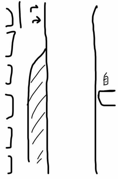 こういう時はどうすればいいですか? ①右の車が自分です。店の駐車場などから右折で出て、直進レーンで直進したいのですが、直進レーンには信号待ちで車が並んでて、右折レーンには誰もいません。 こういう時はどうすればいいですか? ②直進レーンも右折レーンも信号待ちで並んでる場合はどうすればいいですか? ③直進レーンも右折レーンも並んでて、自分は右折レーンに入りたい時はどうすればいいですか? 多