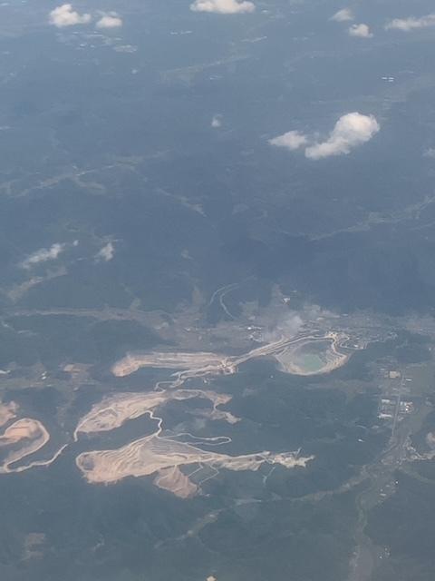 写真が添付されていませんでした。 福岡空港の近くの航空写真です、地名等わかりますか?