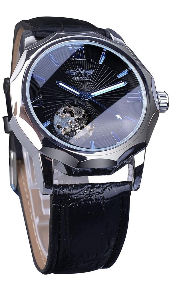 このようなスケルトン腕時計(winner 腕時計 オーシャンダイアル 自動巻き)を使用していたのですがマトモに動きません。 1ヶ月足らずで動きがおかしくなりました。安価なもので品質が良くないということは調べて分かりました。 でもデザインがとても気に入っているので長持ち(せめて3年…)させる方法、もしくは、手頃な価格のもので似たようなデザインの品質が良いものを紹介して頂けないでしょうか?