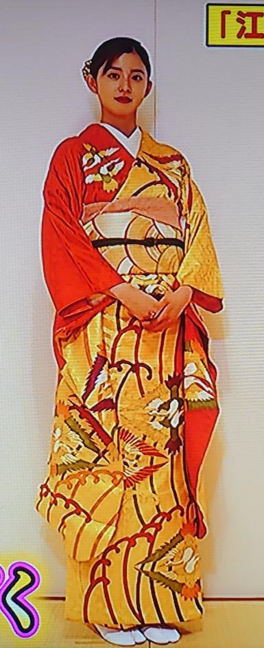 朝比奈彩ちゃんの着物姿、如何でしょうか?