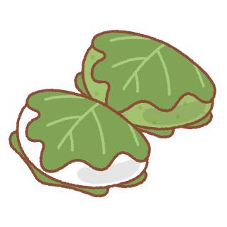皆さんこどもの日に柏餅は食べますか?