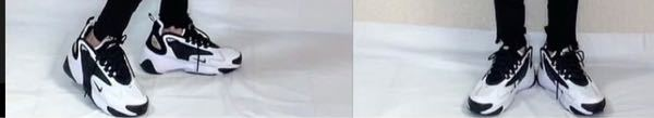 至急!NIKEスニーカー これと同じか、似てる黒白5:5くらいのモノトーンKIKEスニーカーを探しています。どこで買えますか? 通販でも大丈夫です。サイズは23cm