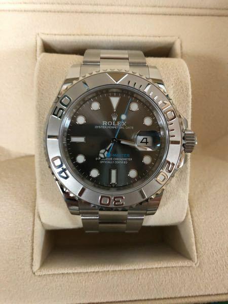 ロレックスのヨットマスター126622を買いました。この時計は何年か後に価値は上がると思いますか?今でも売れば定価超えのモデルではありますが。