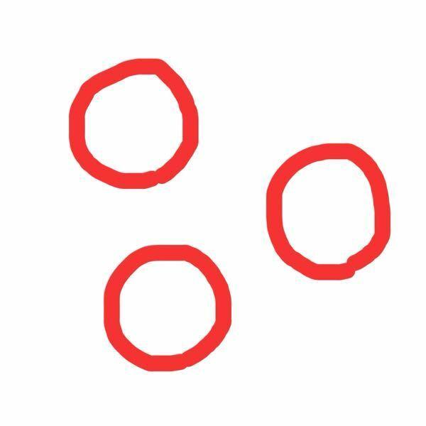 パワーポイントのアニメーション機能について。 場所は違うけど形大きさは同じ図形を同時に出すことはできないのでしょうか? 例えば画像のような3つの丸をスローインに設定したら、一つずつEnterを押して出さなければならなくなってしまいます。これらを一回で全部同時に出す方法はないでしょうか?