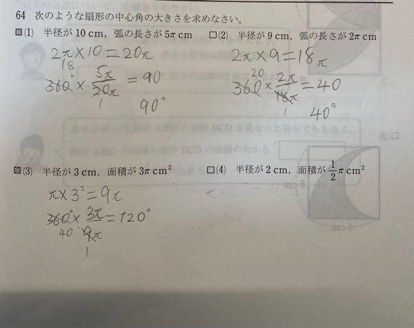 (4)のみ、解答と解説をお願いします!