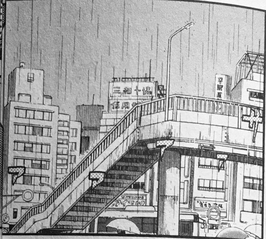 好きな漫画の聖地を探しています この場合のモデルを探しているのですがなかなか見つけられません 都内、もしくは関東の栄えている場所だと思います 見覚えのある方はよろしくお願いします