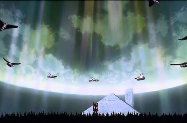 これって、どういう状況ですか? NERVって地下にあったと思うんですが、空が見えているのはなぜ
