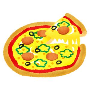 夕飯がピザなのは許せますか?