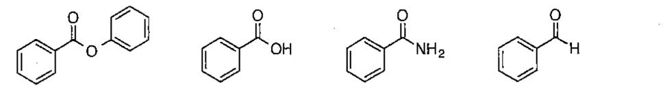 閲覧ありがとうございます。 以下の化合物を、求核付加反応が起こりやすい順に不等号を用いて並べてください。