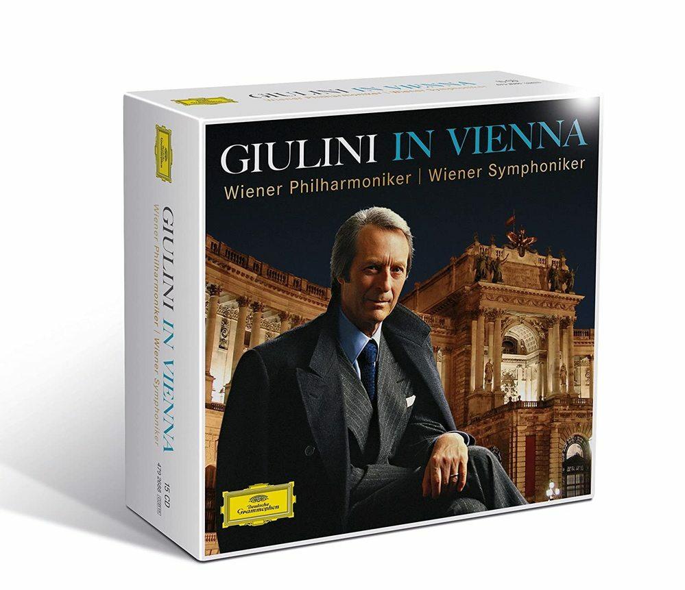 Giulini In Vienna ジュリーニ・イン・ウィーン~ウィーン・フィル、ウィーン響(15CD) (hmv/Amazon) の収録曲はわかりますでしょうか。交響曲/序曲が多いと思うのですが。 特に、ベートーヴェン、ブラームス、チャイコフスキー、ブルックナー等の収録曲が知りたいです。 hmvは、英語の曲紹介だったので。よろしくお願いいたします。