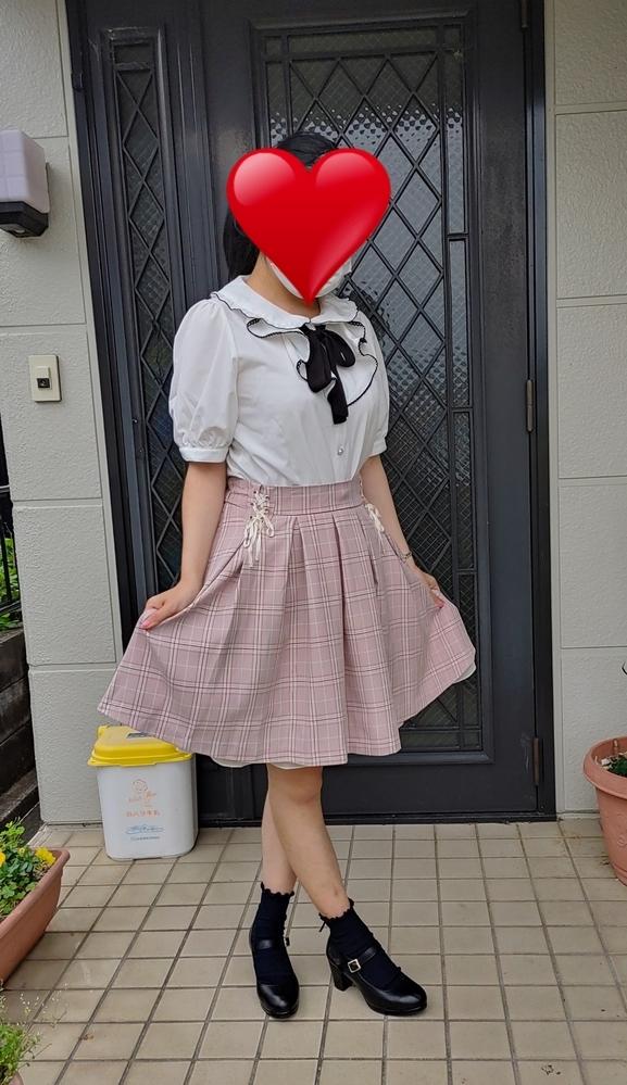 このファッション、可愛いですか? お礼25枚。 よろしくお願いします