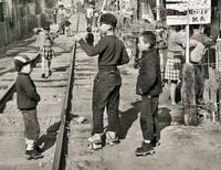 昭和の子供たちは「下駄」を履いていましたか?