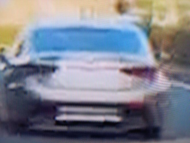 このシルバーの車はなんですか?