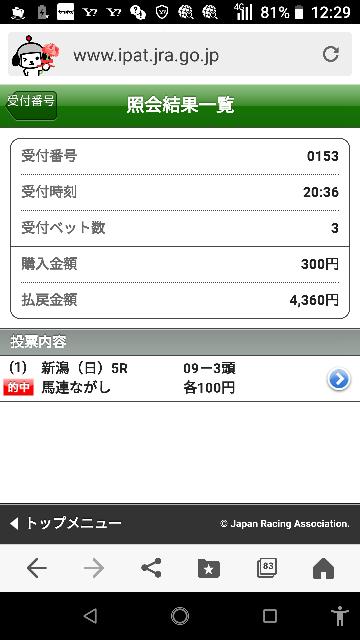 中京メイン 13―1.4.5.9.10 なにかいますか?