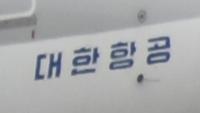 大韓航空と言う航空会社の飛行機にこんな文字が書かれていたんですが、どう言う意味なんですか?