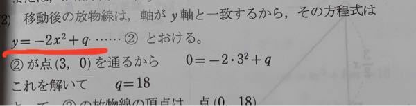 なぜ赤線のような式が出てくるのか教えてください 平方完成ですか?