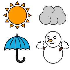 本日5月10日は日本気象協会設立記念日です(*˙˘˙*) 皆さん好きな天気はなんですか? 私は晴れと雪ですね( *´꒳`*)♡