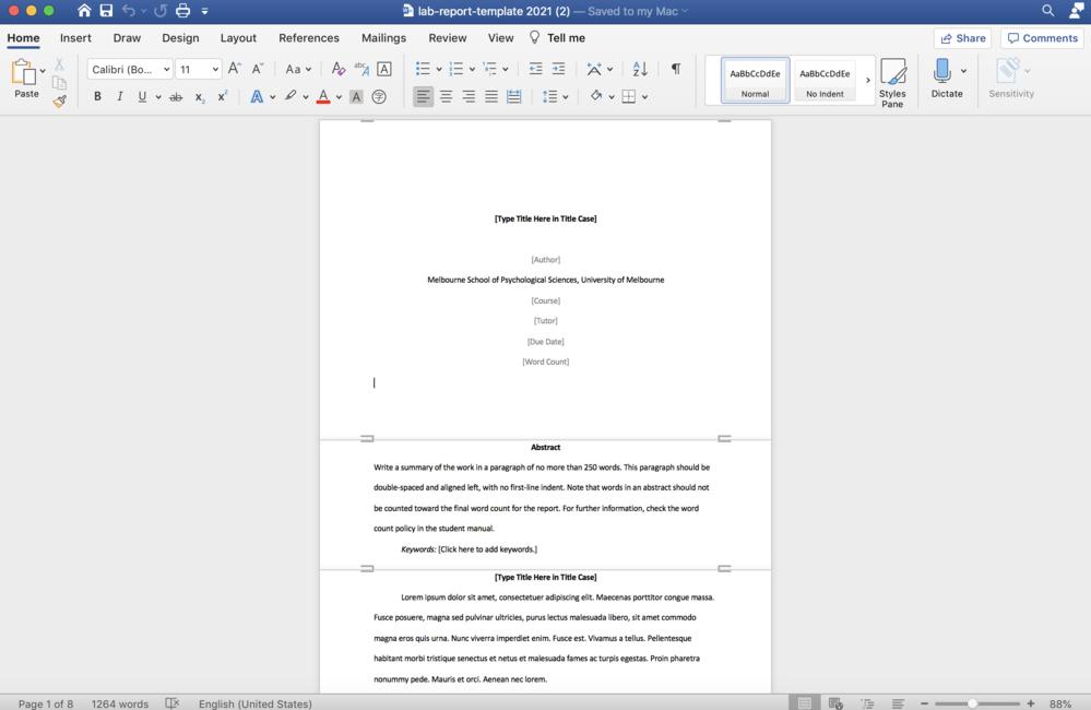 ワードで文字数によってページのサイズが変わってしまいます(画像参照)。 ページサイズを固定したいのですが、どのように設定すればいいでしょうか。